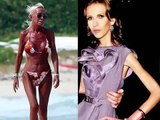 "Donatella & Allegra Versace ; Sad "" House of Versace """
