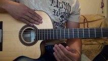 Como Tocar la Segunda Guitarra de Bachata para Principiantes