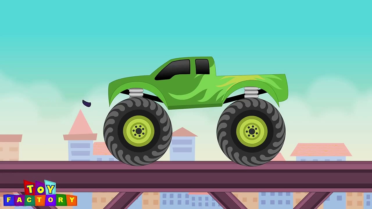 Hulk monster truck   Monster trucks for children   Monster trucks