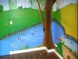 Déco pour chambre d'enfant - Peinture Déco trompe l'oeil