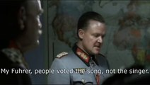 Hitler finds that Conchita Wurst won Eurovision Song Contest