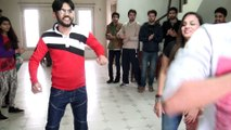 """part 1 Antakshiri Indian Pakistani students in New York in Bollywod """" Lovers from Jupiter to India """""""