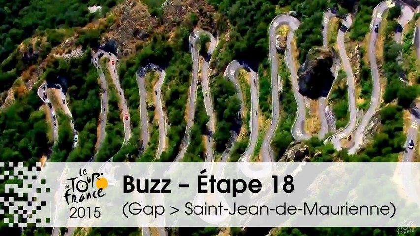 Buzz du jour / Buzz of the day - Étape 18 (Gap > Saint-Jean-de-Maurienne) - Tour de France 2015
