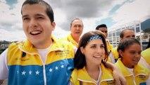 Este es el mensaje de la selección venezolana de jóvenes especiales que participan en los juegos de Los Ángeles 2015