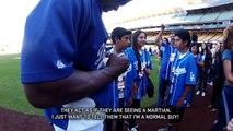 Home Field Advantage - Yasiel Puig, LA Dodgers outfielder
