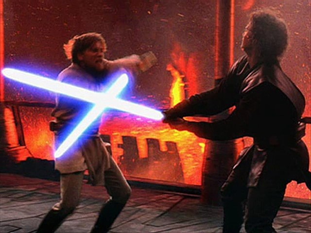 Star Wars Revenge Of The Sith Soundtrack Anakin Vs Obi Wan Yoda Confronts Sidious Video Dailymotion