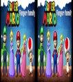 Super Mario Cartoon Theme Finger Family Nursery Rhymes | Super Mario Children Rhymes for N