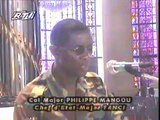 Prière à la Basilique de Yamoussoukro (prière de St-Francois d'Assise)