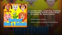 Cartoon, Dog - Large Dog, Growling and Barking, Animal Cartoon Birds & Animals, Dr. Sound Effects