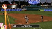 """MLB 2k13 my player """"Matt Fluttershy"""" first major league homerun"""
