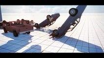 Car crash test mod fail game   Cars crashes fails games compilation 54