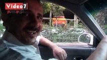 """بالفيديو.. شاهد أول سائق تاكسى """"أخرس"""" فى شوارع مصر"""