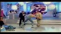 VAN DAMME - Imitates Stallone, Seagal, Arnold and Him self + Karate Demonstration