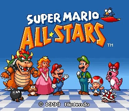 Snes Longplay [033] Super Mario All Stars Super Mario Bros  3