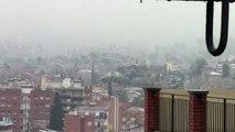 Nevades 2/2/2012 (Sant Cugat del Vallès) 11:30h