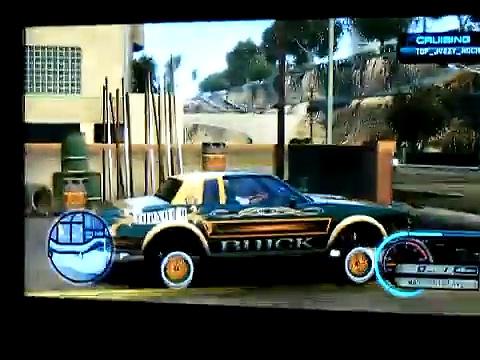 Midnight Club Los Angeles (custom cars) TOP NOCH Low Rider cruising vol 3