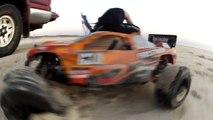 GoPro Rc Cars Beach Runs HPI Bullet,Savage, Firestorm, Traxxas Rustler & AR Parrot Drone 2.0