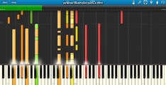 Brian McKnight - Back At One [Piano Tutorial] (Synthesia)
