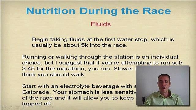 Marathon Nutrition - What to eat during a Marathon