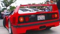 Two Ferrari Enzo F40 F50 288 GTO | 3 Porsche Carrera GT | Mercedes SL65 AMG Black Series CLK DTM