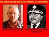 Golpe Estado Honduras, Historia Golpes Estado en el pais desde 1956 al 2009