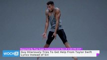 Guy Hilariously Tries To Get Help From Taylor Swift Lyrics Instead of Siri