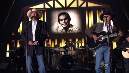"Alan Jackson & George Strait -  ""He Stopped Loving Her Today"" ((CMA Awards2013))"