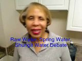 Raw Water, Spring Water, Shungit Water  Is It All The Same?