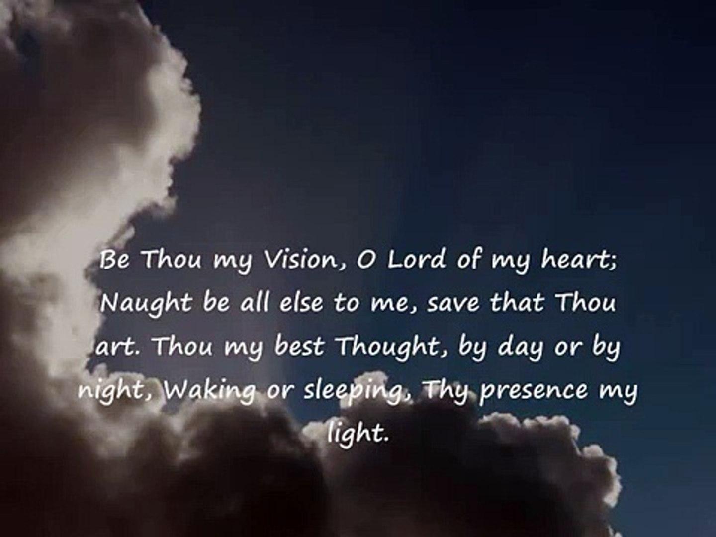 Be Thou My Vision -Lyrics (Celtic Version)