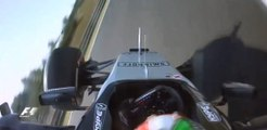 Formule 1 - L'accident de Sergio Perez aux essais du Grand Prix de Hongrie