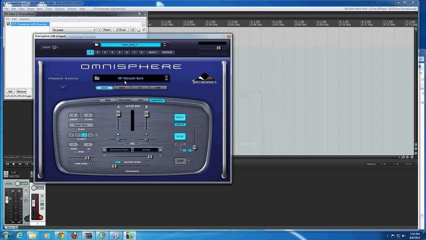 Multi-track MIDI and Omnisphere in Reaper Tutorial