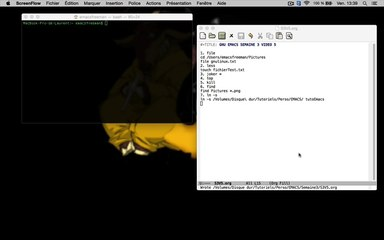 GNU EMACS SEMAINE 3 VIDEO 5