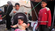 Syrian - Jordanian border crossing point - Arabic (English subtitles)