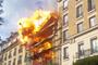 Explosion d'un immeuble à Levallois-Perret : les images amateurs