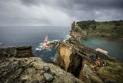 Red Bull Cliff Diving World Series 2015 – The fascination of Cliff Diving – Azores, Portugal