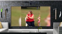 pit bull attack grandma, family pit bull nanny (slow motion)
