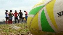 Afrique du sud: devenir un Springboks, un rêve pour beaucoup de jeunes des townships.