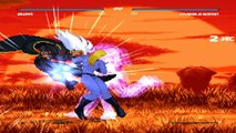 Fighting Vipers Mugen -  Storm vs Invisible Woman Gameplay Footage!!!