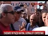 Patrizia D'Addario contestata al No Bavaglio Day (1/07/2010)