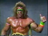 WWF Ultimate Warrior Vs Hulk Hogan Pre WrestleMania VI Promo