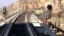 A aterradora Ponte da Curva (Puente de la Curva) junto ao Douro Internacional !