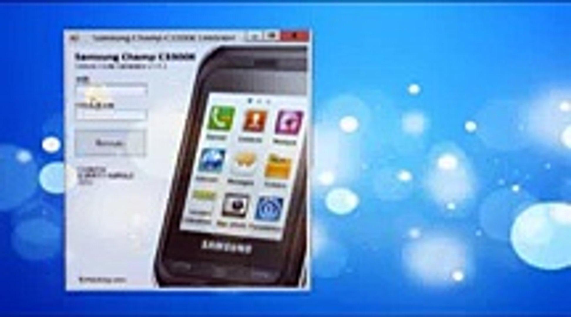 Samsung gt-c3300k network unlock code free online