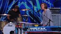 3 Shades of Blue  Pop Rock Band Covers Nina Simone's  Feeling Good  - America's Got Talent 2015