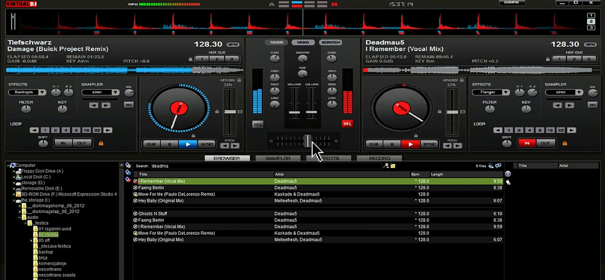 Virtual DJ tutorial - the most basic and simplest tutorial ever (house)