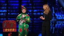 Piff the Magic Dragon  Comedic Magician Kisses Heidi Klum - America's Got Talent 2015