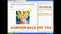 Dragon Ball Android game The Battle Of Saiyan Warrior v1 1 2