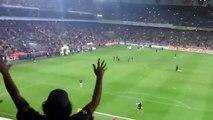 OKUL ACIK - Fenerbahçe Galatasaray -  Maç öncesi oyuncuların tribüne çağırılışı