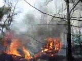 Grass fire 12:45 p.m. March 8, 2010 Pine Snag, Arkansas