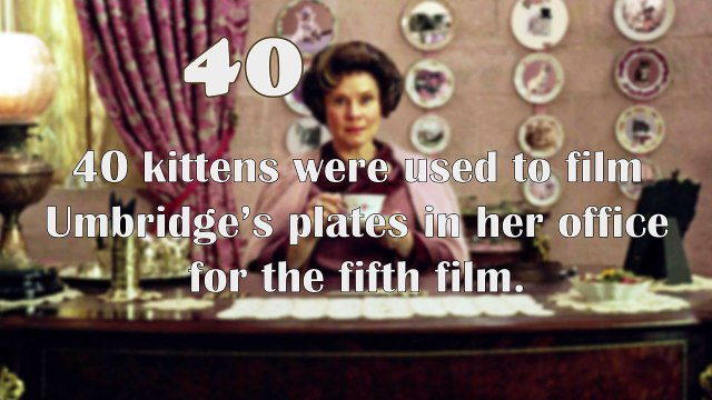 10 Harry Potter Facts #2 (in numbers)