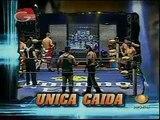 Joe Líder/Nicho el Millonario vs Jack Evans/Teddy Hart vs Extreme Tiger/KENTA [AAA TAG], 2008/12/17